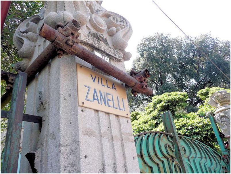 Ingresso Villa Zanelli