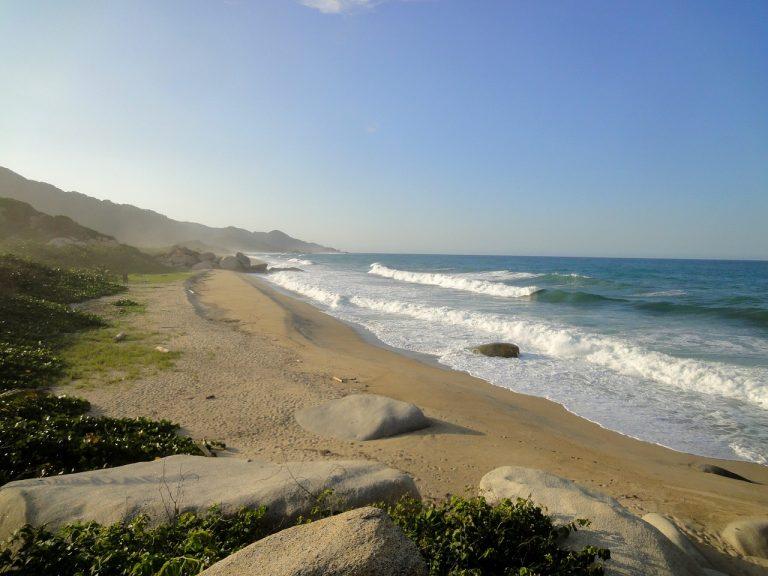 Le spiagge della Colombia