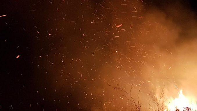 Incendio da spegnere