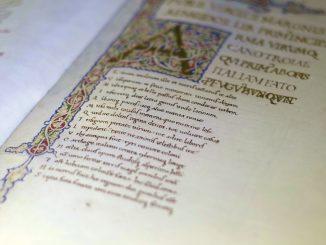 lettera miniata