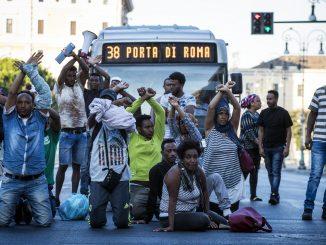 sgomberi migranti