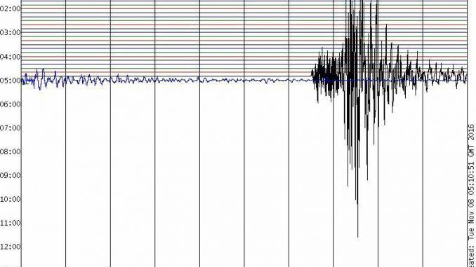 Terremoto, scossa 4.3 al largo delle coste calabresi