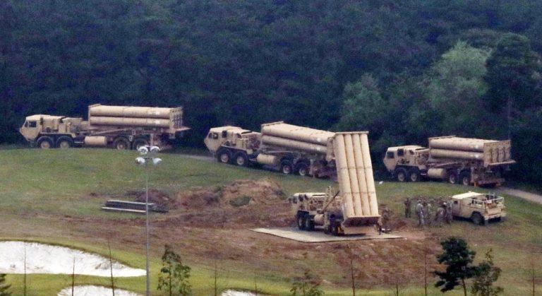 Seongju. Installate 4 nuove batterie antimissile Thaad