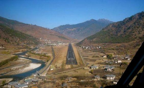 Aeroporto di paro, Buthan