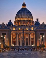 Basilica illuminata