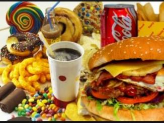 Dolci e cibo fast-food
