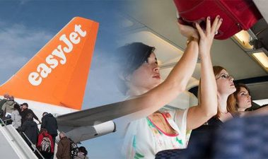 Volo EasyJet e bagaglio a mano