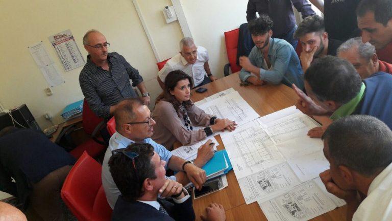 L'assessore presenta il progetto del nuovo mercato ai commercianti di via Nizza