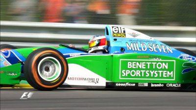 Macchina usata da Michael Schumacher in Belgio