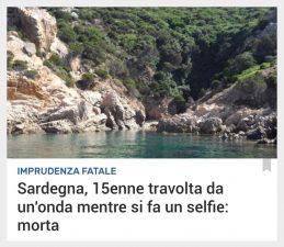 Episodio in Sardegna