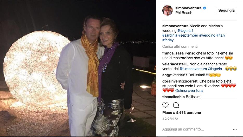 Paura per Simona Ventura: il figlio Niccolò finisce in ospedale