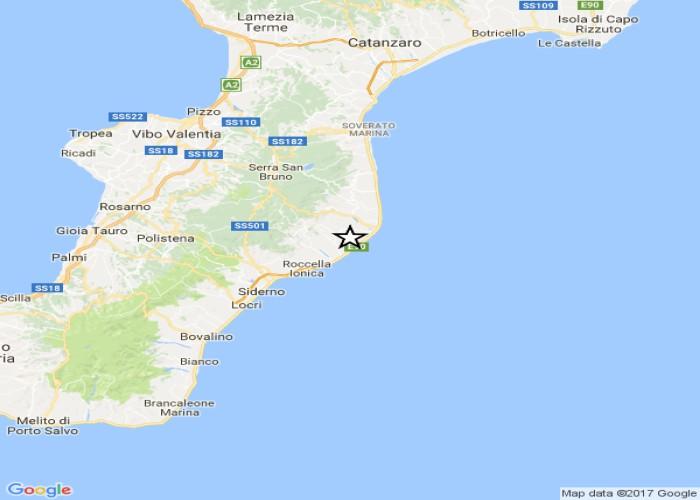 Terremoto, scossa di magnitudo 2.8 a Reggio Calabria. Trema anche Malta: 3.0