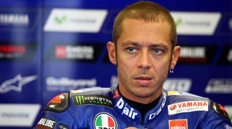 MotoGP, La lastra della gamba di Valentino... va a ruba