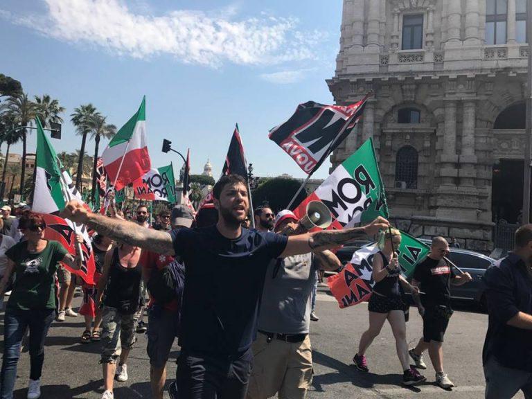 Roma/Corviale. Scontri Forza Nuova Polizia per casa a Eritrei. 5 arresti