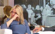 I Fatti Vostri: Laura Forgia piange perché sgridata in diretta