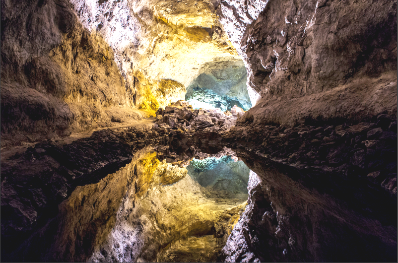 Grotta a Lanzarote
