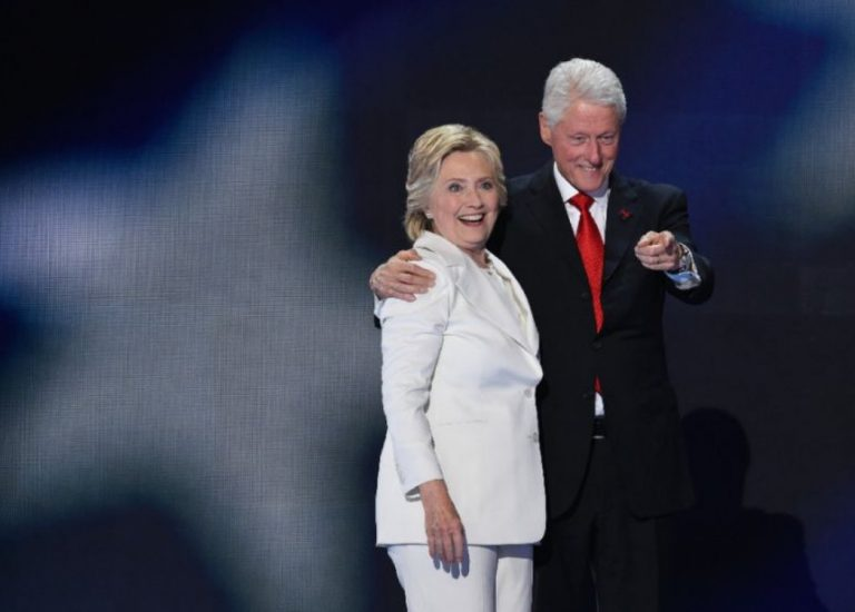 Hillary e Bill Clinton