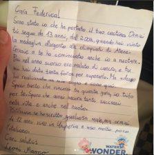 Lettera di un fan