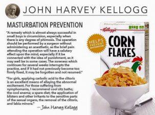 """L'invensione """"inibitoria"""" di Harvey Kellogg"""