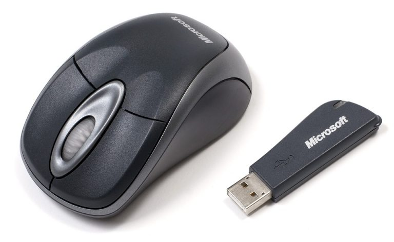 Mouse wireless della Microsoft