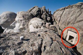 Dietro alla testa di Lincoln