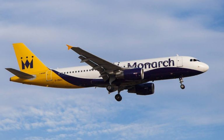 Monarch Airlines interrompe le operazioni di volo
