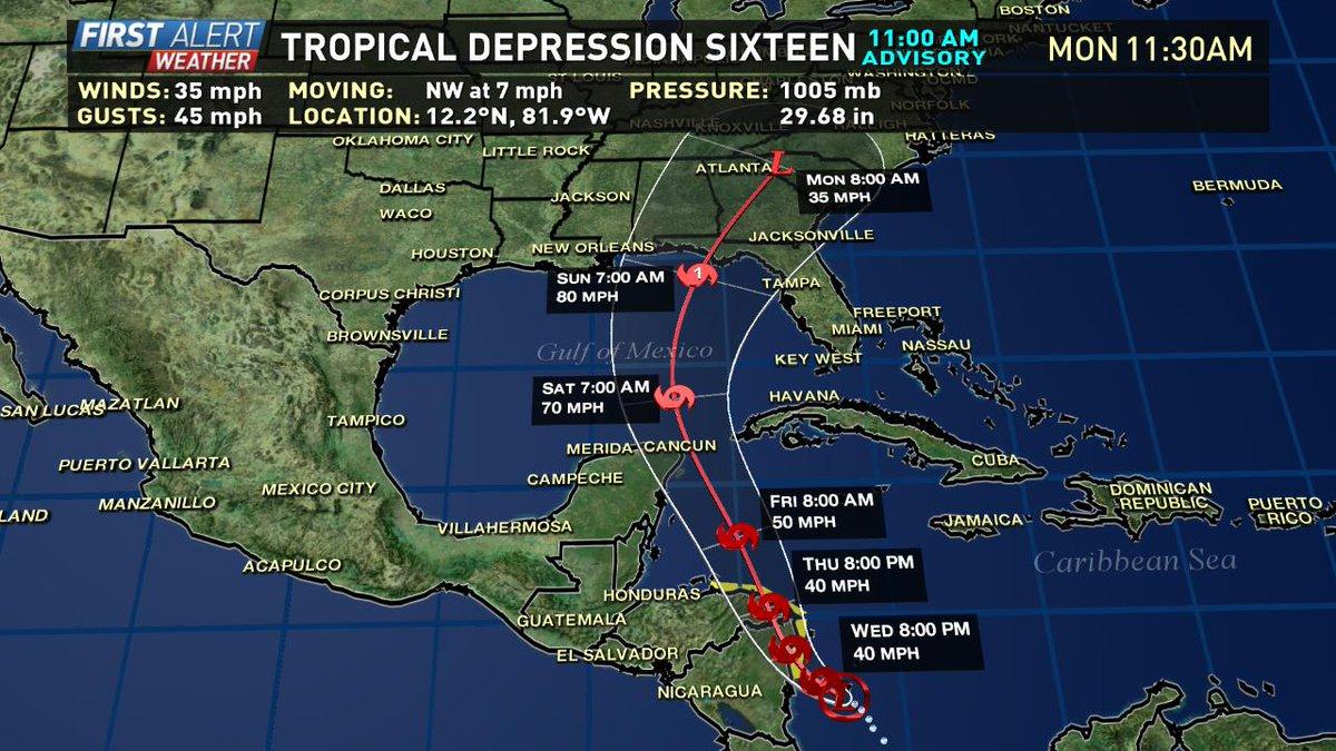 Tempesta tropicale fa 22 morti nell'America centrale. Va verso gli Usa
