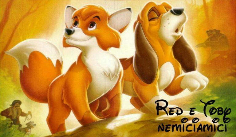 Red e toby cartone animato anni 80 morale ed insegnamenti