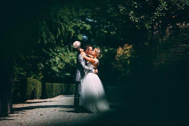 Sposi in mezzo alla natura
