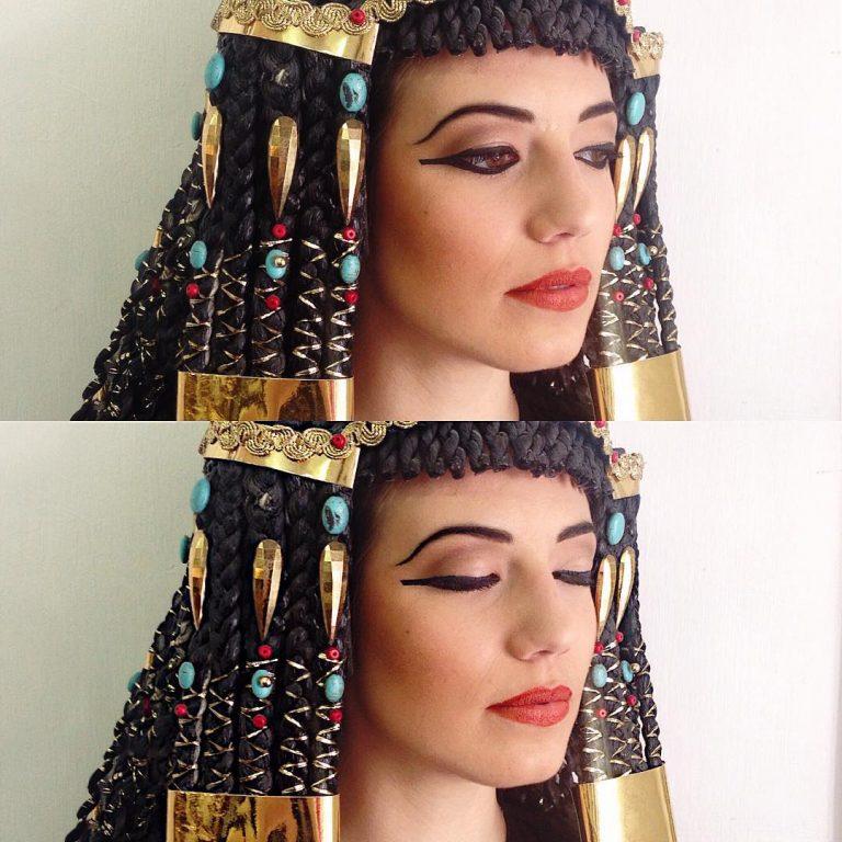 Ricostruzione di come doveva apparire una donna egizia