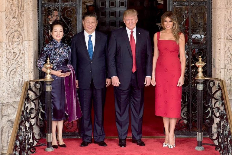 Trump in Cina