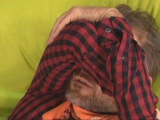 Daniele Bossari lacrime