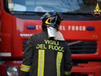 Incendio Messina