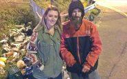 La ragazza e il senzatetto
