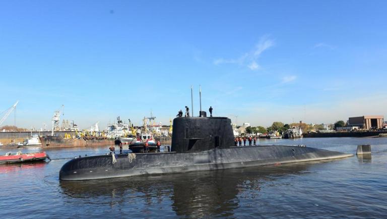 sottomarino argentino scomparso