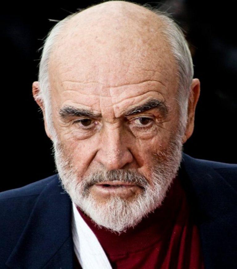 Sean Connery nel 2008
