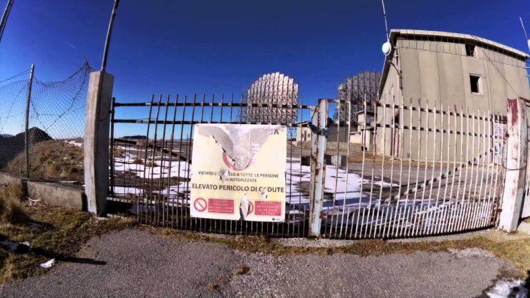 Ex-base militare Nato abbandonata sul Monte Grappa