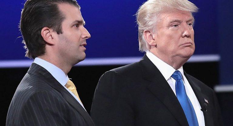 Il figlio di Donald Trump era in contatto con WikiLeaks