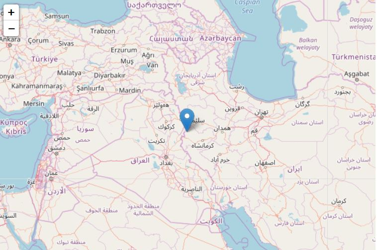 Potente sisma 7.2 in Iraq vicino al confine con l'Iran