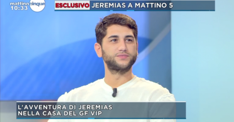 Jeremias Rodriguez su Fabrizio Corona: