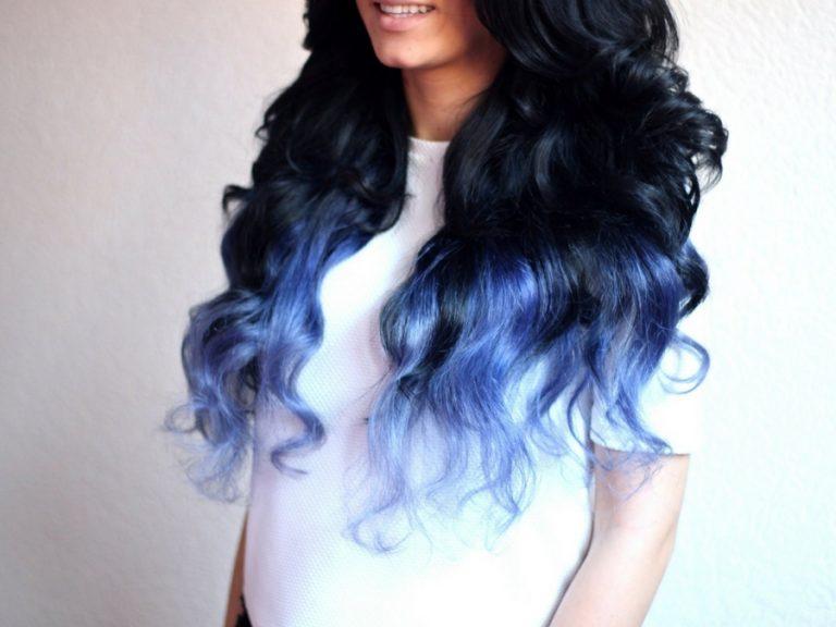 decolorazione con blu