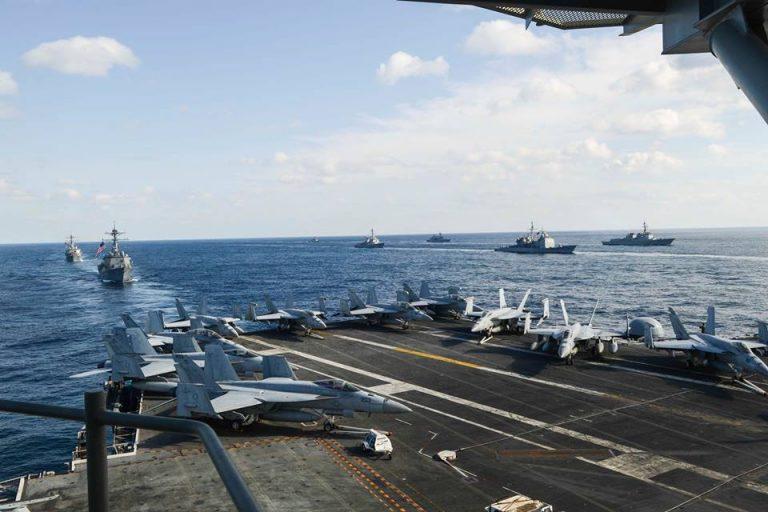 Okinawa. Precipita aereo militare Usa con 11 persone a bordo