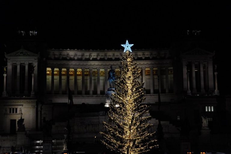 Albero Natale Roma