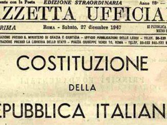 Anniversario Costituzione