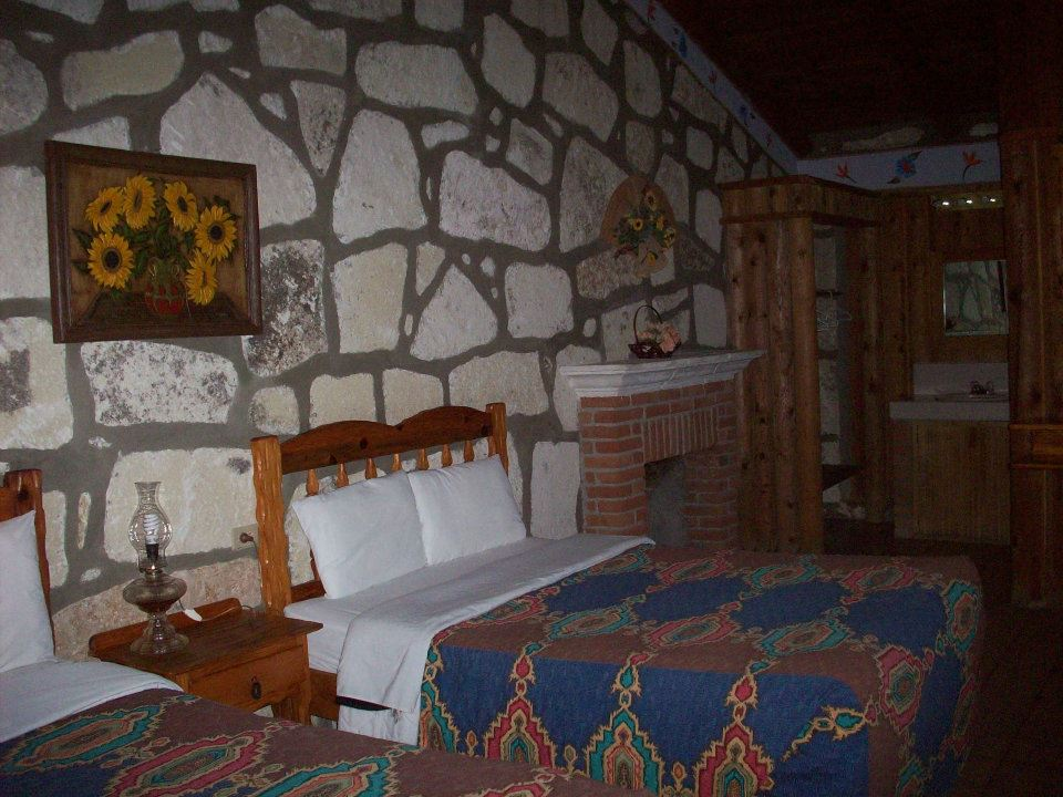 Camera dell'hotel messicano