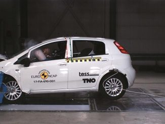 Crash test Fiat Punto