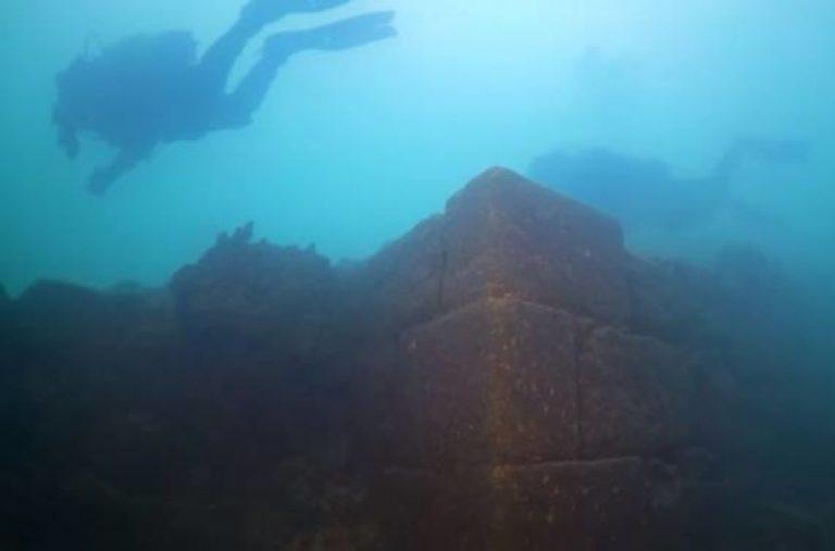 Scoperta in un lago turco