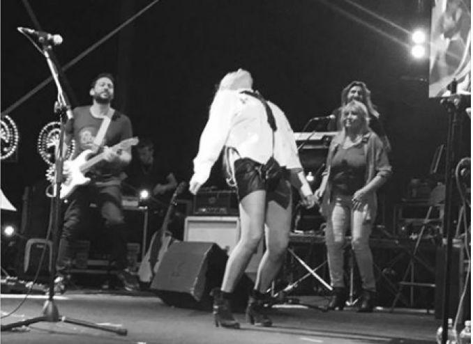 Sanremo, Loredana Bertè gela Claudio Baglioni