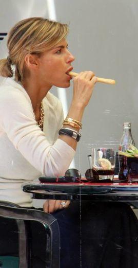 Alimentazione di Martina Colombari