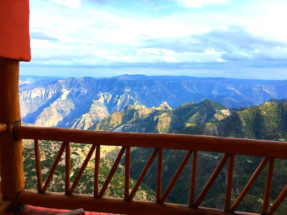 Vista sul canyon